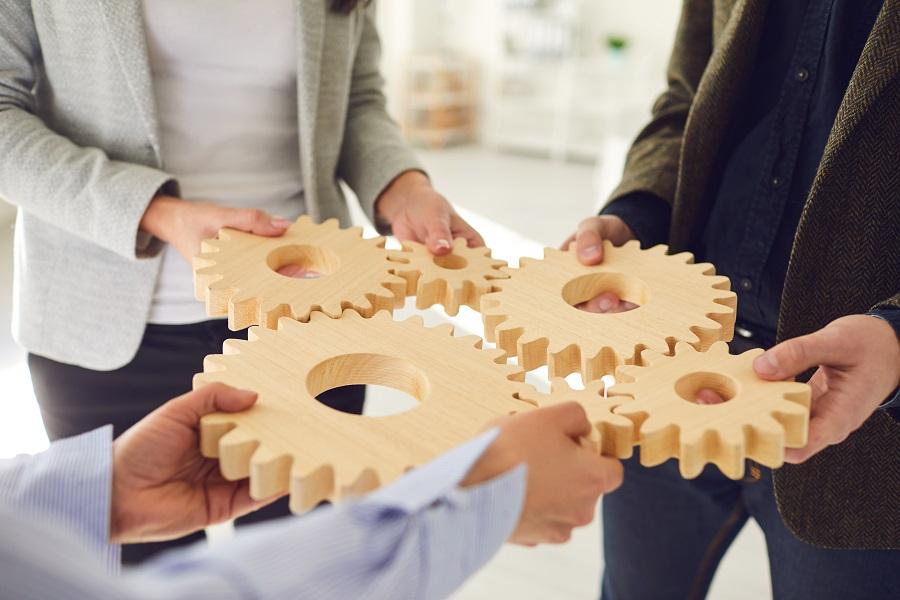 Erfolgreich Zusammenarbeiten ist eine Kunst, die ….