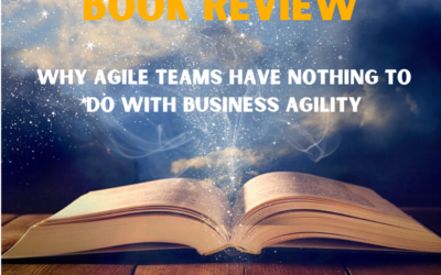 BOOK REVIEW – Rethinking agility