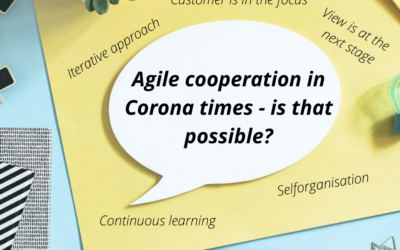 Is agile working crisis-proof and also possible in Corona times?