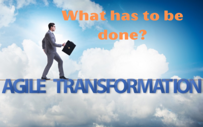 Agile transformation – how does it work?