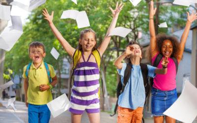 Schule macht Spaß! Hurra, endlich Ferien!